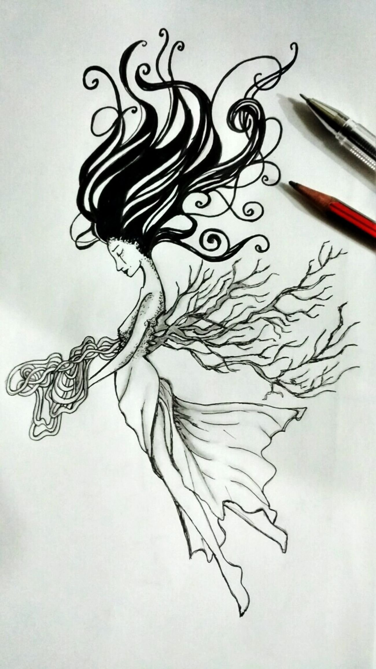 My Drawing Unfinished Drawing