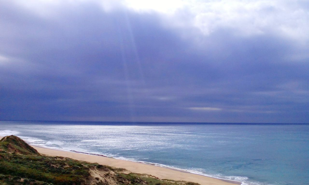 sea, horizon over water, sky, water, beauty in nature, scenics, nature, tranquil scene, cloud - sky, tranquility, beach, outdoors, day, no people