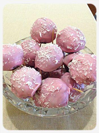 Cake Pops Yam Yam Pink Cake♥