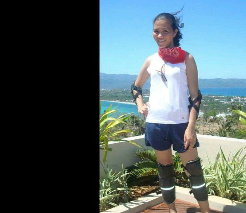 Enjoying the island of Boracay, Aklan, Philippines