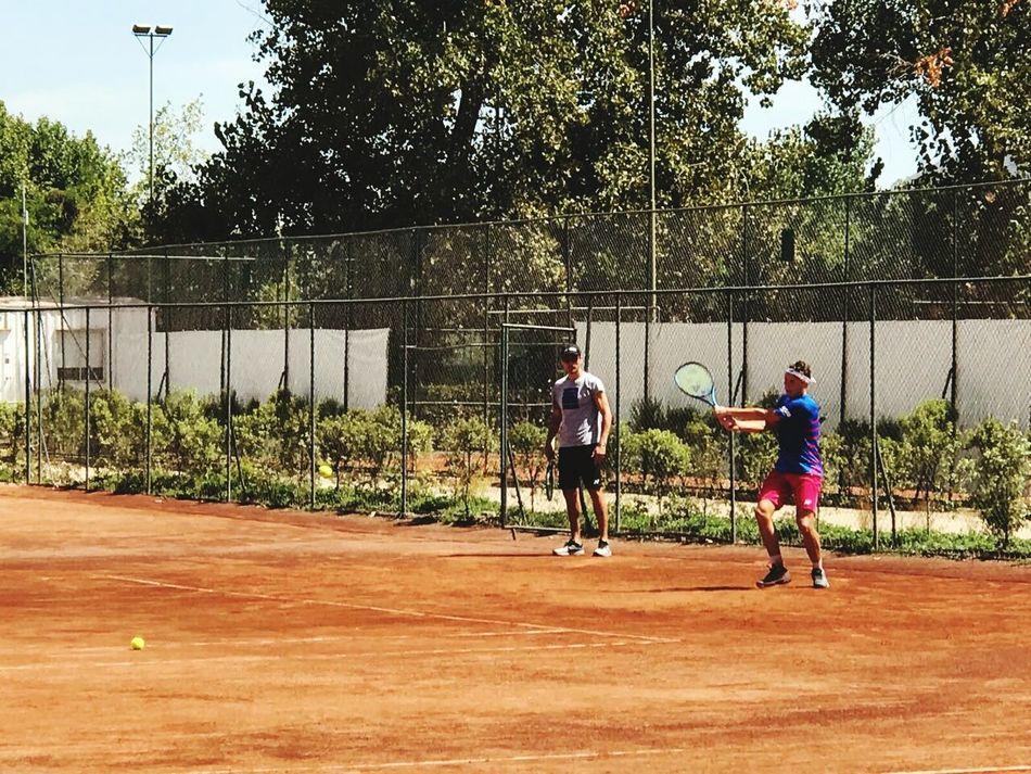 Entrenamiento Tenis Deporte First Eyeem Photo