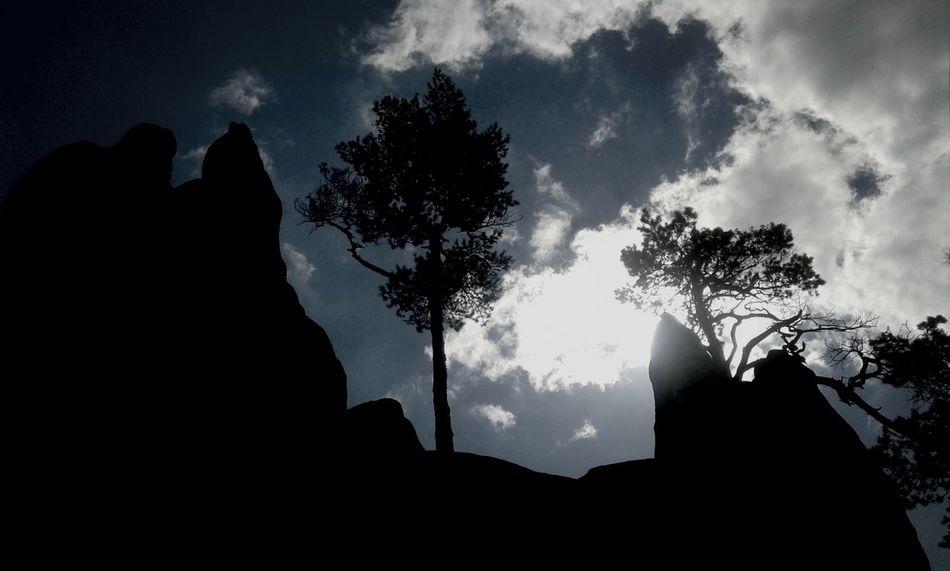 Gratzer Steine... Rocks Sky Sky And Clouds Nature