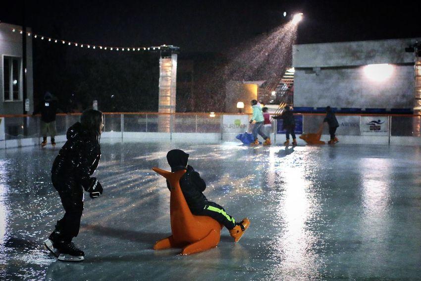 Ice Skating Rain Photojournalism Kids Canon 70d Canon Canonphotography Enjoying Life Burbank  Downtown My Winter Favorites