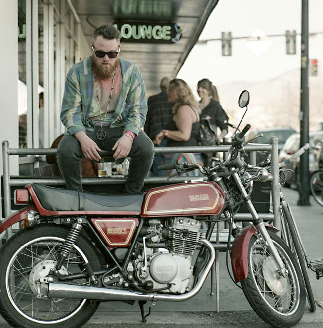 Always so Trimp. Motorcycle Lifestyles Leisure Activity Hasselblad 500C/M Ishootfilm Portra 400 Kodak Film Photography