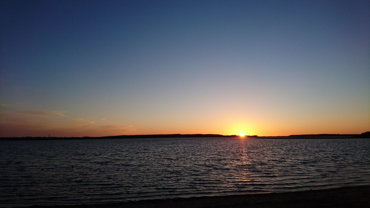 Sonnenuntergang Sunset Meer Beach Ripples Sea Sea And Sky Roskilde Fjord Nature Natur The Great Outdoors - 2016 EyeEm Awards