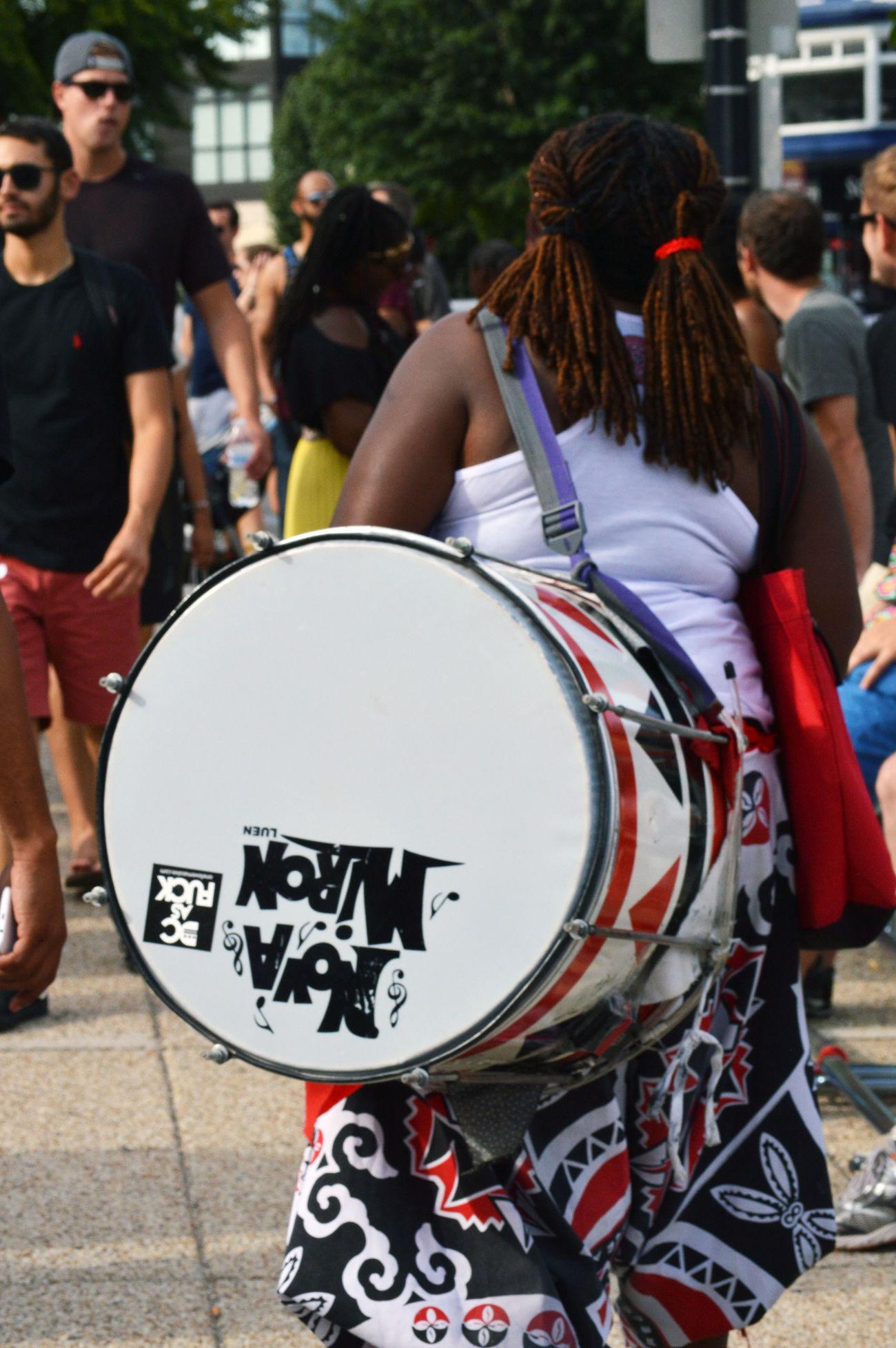 Candid Candid Photography Drummer Drummer Girl DrummerGirl Instrument Musician Washington, D. C. Streetphotography Street Photography Adamsmorgan
