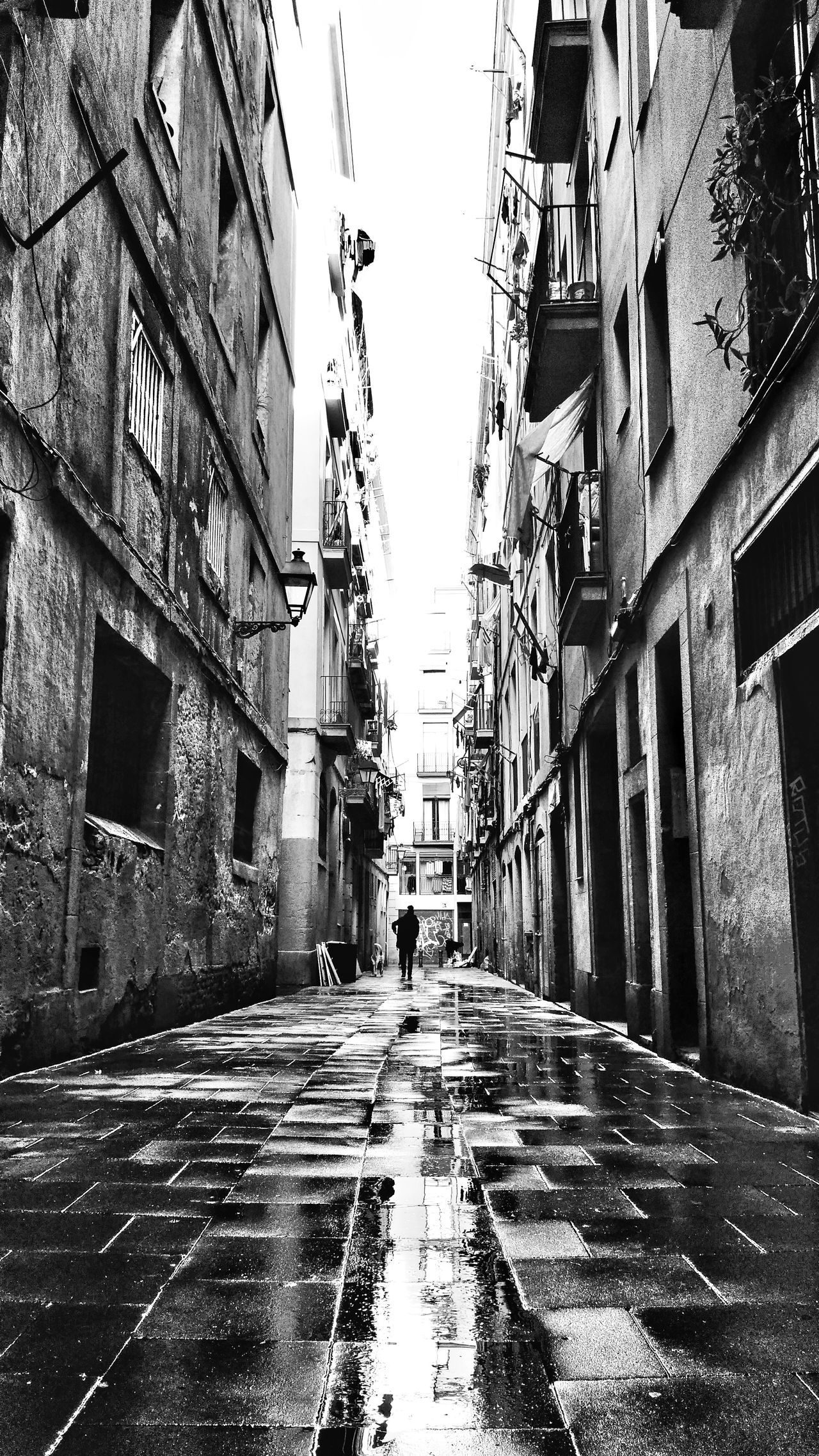 El Raval....Wet Rain Bnw_architecturelines Bnw_of_our_world Bnw_city Bnw_streetphotography Bnw_captures Bnw_pattern Bnw_collection Bnw_snapshots Barcelona Streets Barcelona Streetphotography Barcelonainspira Wet Streets Narrow Street Old City Reflection_collection Bnw_europe Barcelona_blackandwhite Rainy Day