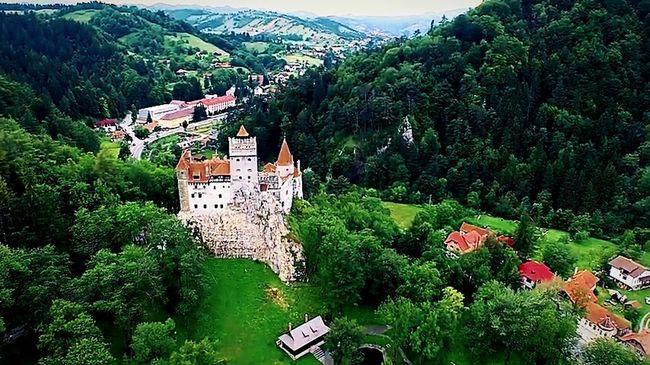 Landscape Romanian Lands RomaniaIsAmazing Hello World Showcase July Brasov Romania Bran Castle
