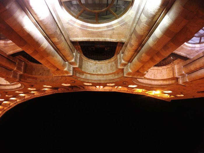 Doric Pillar Arch Architecture