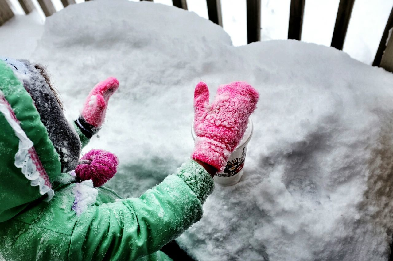 Beautiful stock photos of snow, Childhood, Children, Cold Temperature, Day