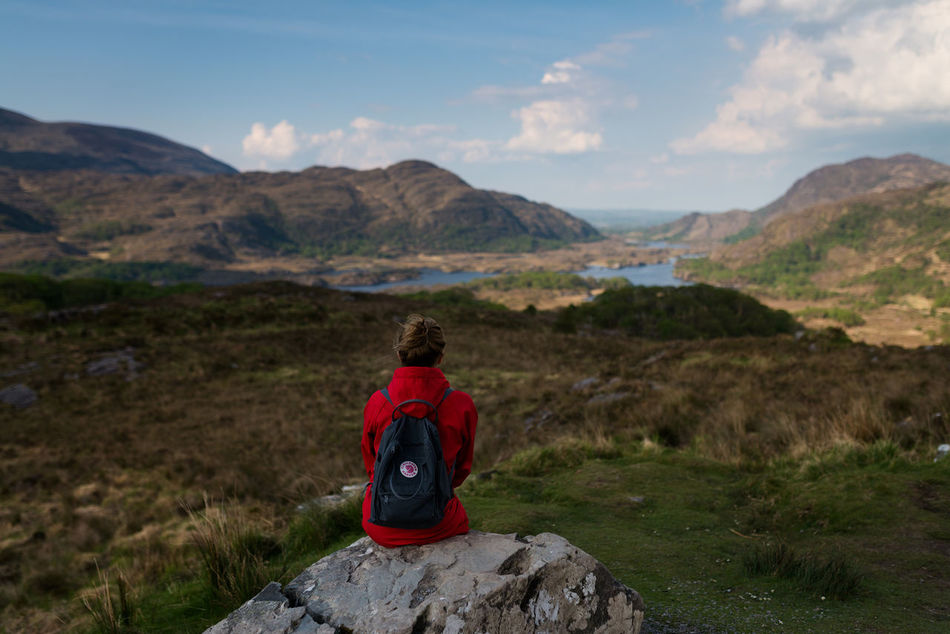 Beautiful stock photos of irland, rear view, nature, beauty in nature, landscape