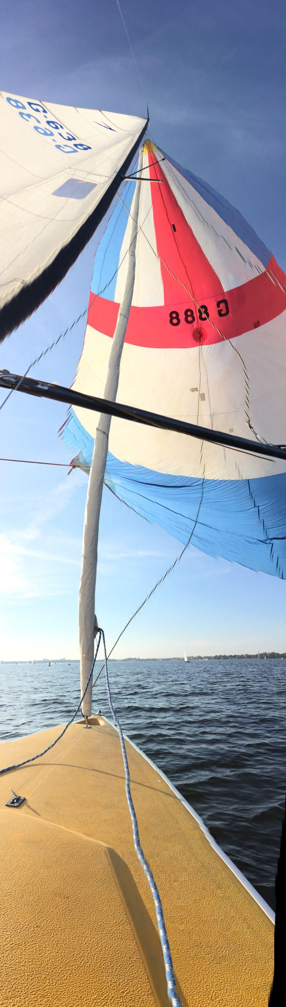 Dyas Sailing 888 Spinaker