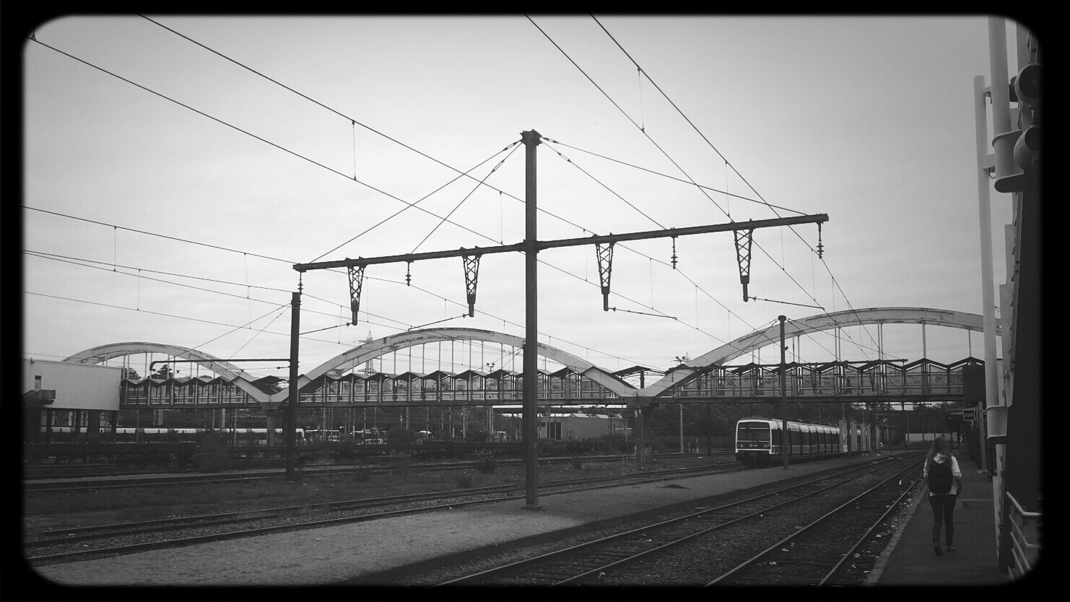 RER C Massy-palaiseau Passerelle
