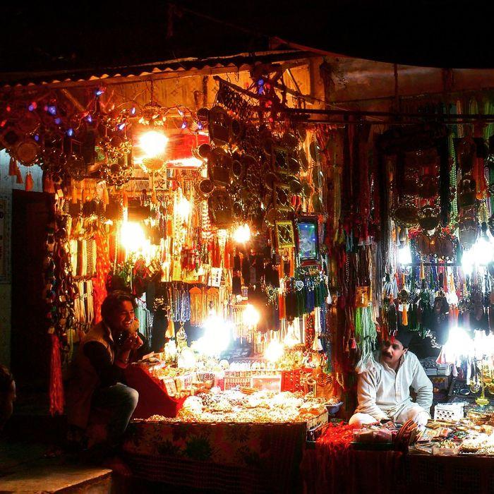 Lighted Streert Streetphotography Street Streetphoto_color Streetshop Ajmer Ajmersharif Ajmer Darga Ajmer_Dargah_Shareef India Rajasthan Colorful Art Craft Shop Night Real People People Men Nightphotography Night Lights Mobilephotography