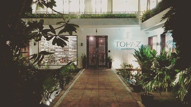 Topaz Cambodia Phnompenh Frenchcusine