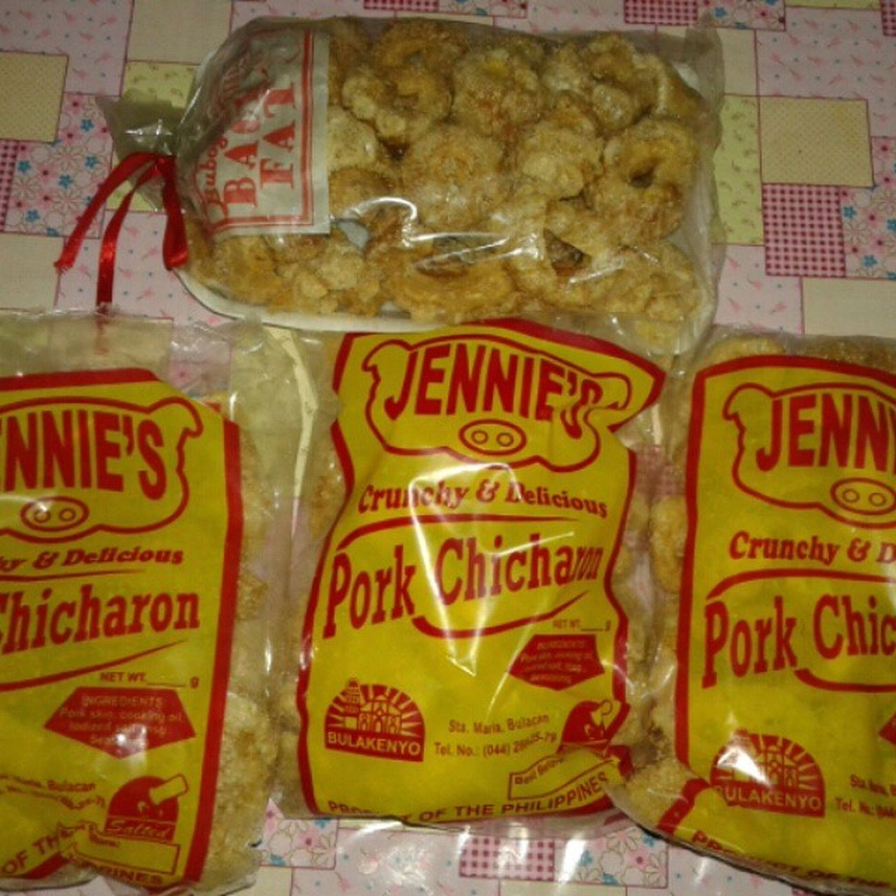 Thank you sistah for Crunchy and Delicious chicharon from Bulacan♡ Bulakenyo Chicharon