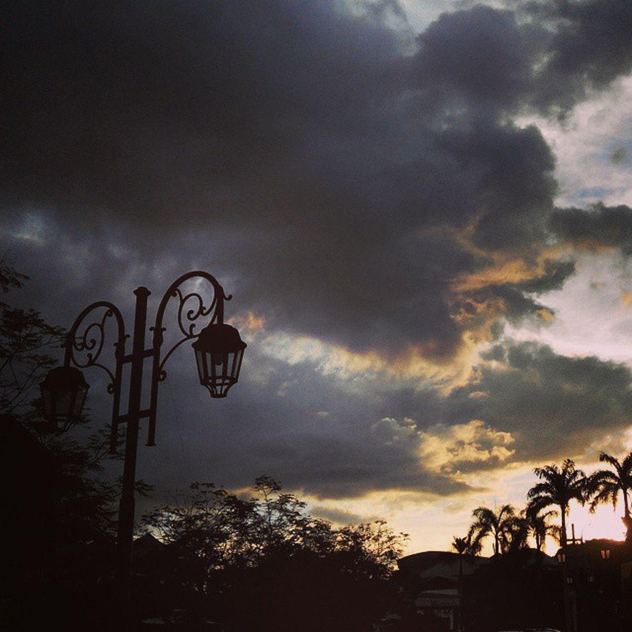 Tanjungmalim Upsi Sunset Silhouette Nature Scenery Malaysia Cloudysky