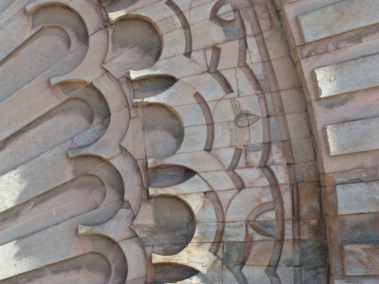 Abside Arches Architecture Church Close-up Marrakech Morocco No People Outdoors Portal Wood - Material