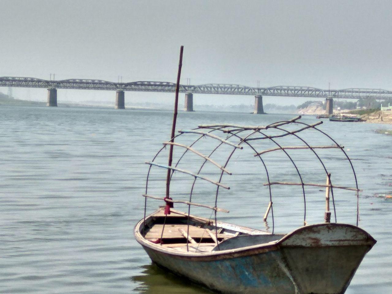 Mycity Myallahabad Jamuna River Boat Elegant View Feel Fresh Eyeemphotography EyeEmNewHere
