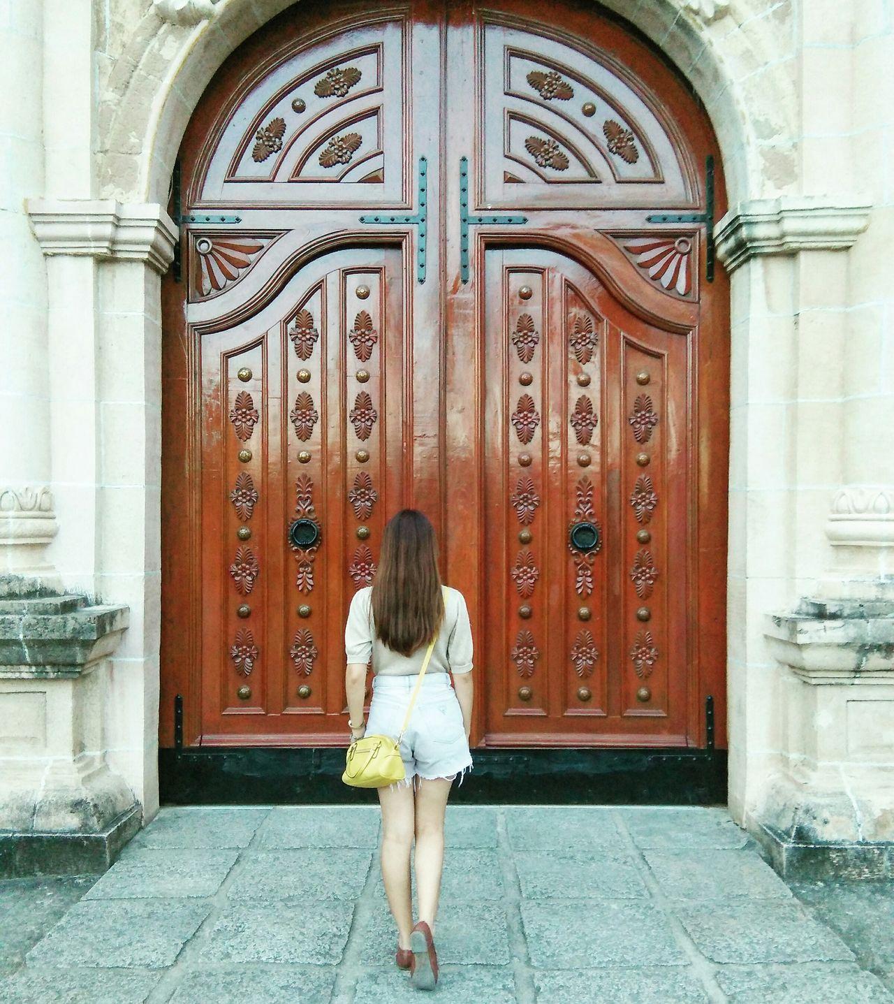 Back Door Never Look Back