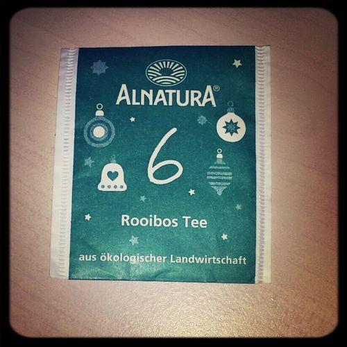 Immer gut sowas.Einfach lecker! Ein schöner Nikolaus-Tee... Tea ALNATURA