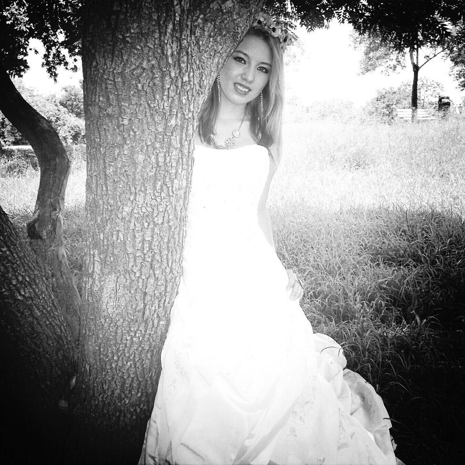 In A White Dress Oldpicture Weddingdress Lovemylife