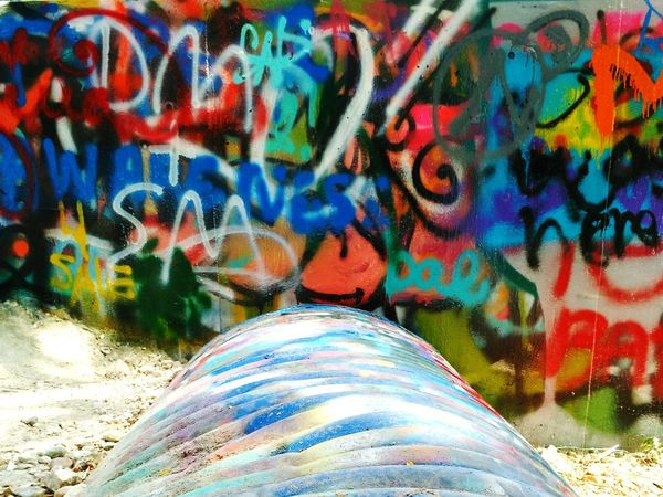 Not Sure About This One Colorful Graffiti Art Shot With My Phone Colour Of Life Pivotal Ideas