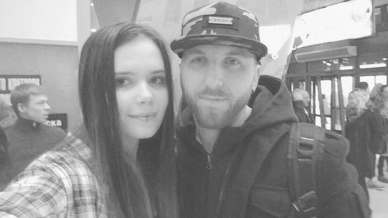 3DG Three Days Grace Rock Belarus. Minsk That's Me Girl Neil Sanderson me and Neil Sanderson, drummer of Three Days Grace