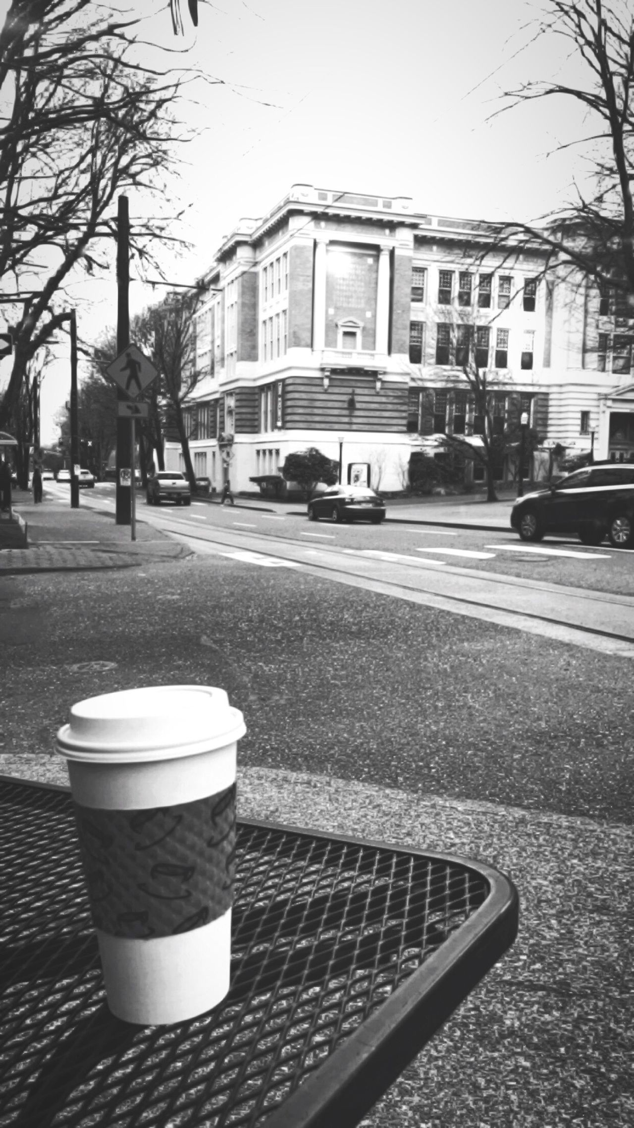 Lincoln Hall PSU Portland State University Portland Portland, OR Market Street Park Avenue Park Ave Park Avenue Cafe Coffee Coffee Time Blackandwhite Black And White Black & White Welcome To Black