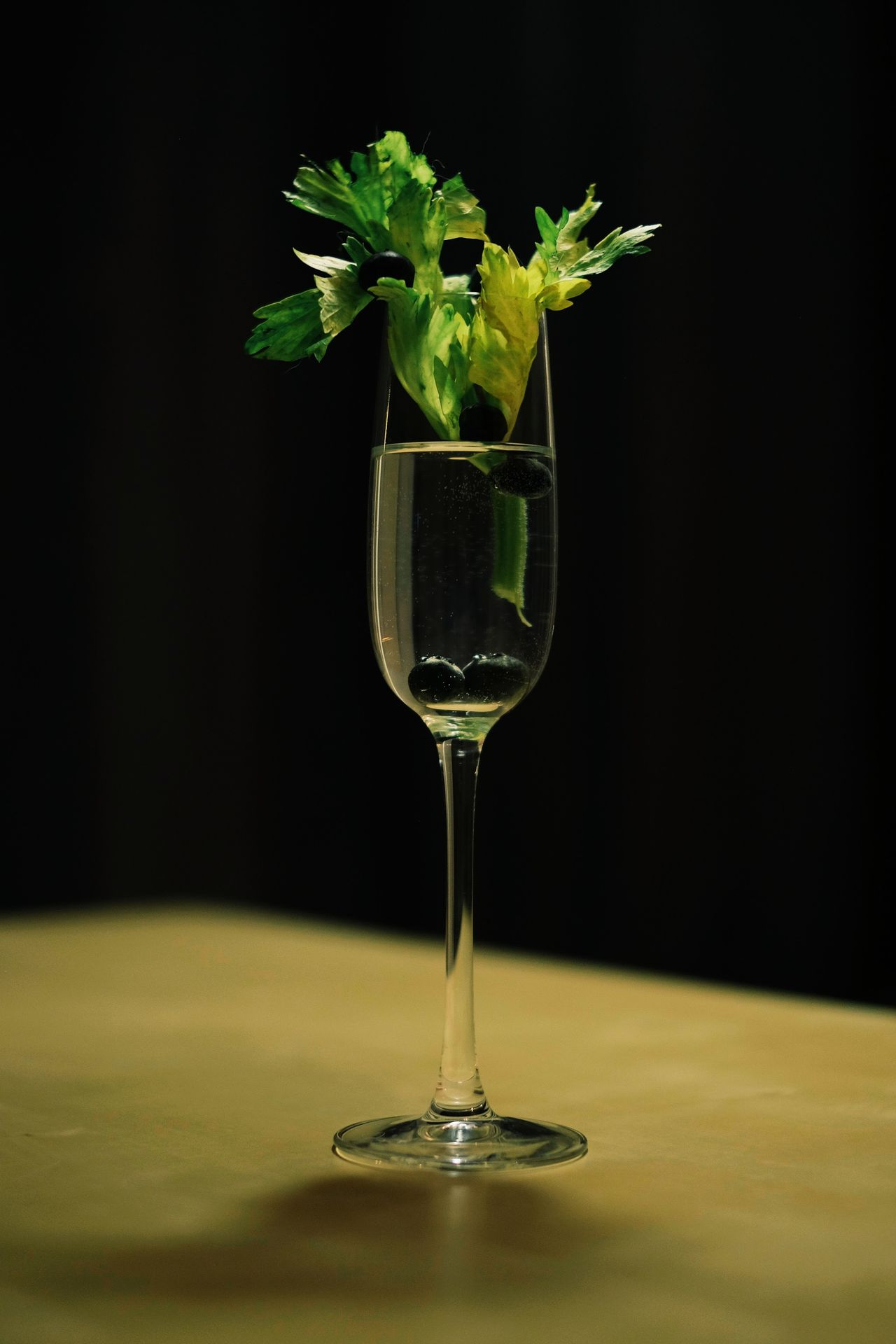 Alcohol Black Background Close-up Day Drinking Glass Freshness Indoors  No People Table Wineglass