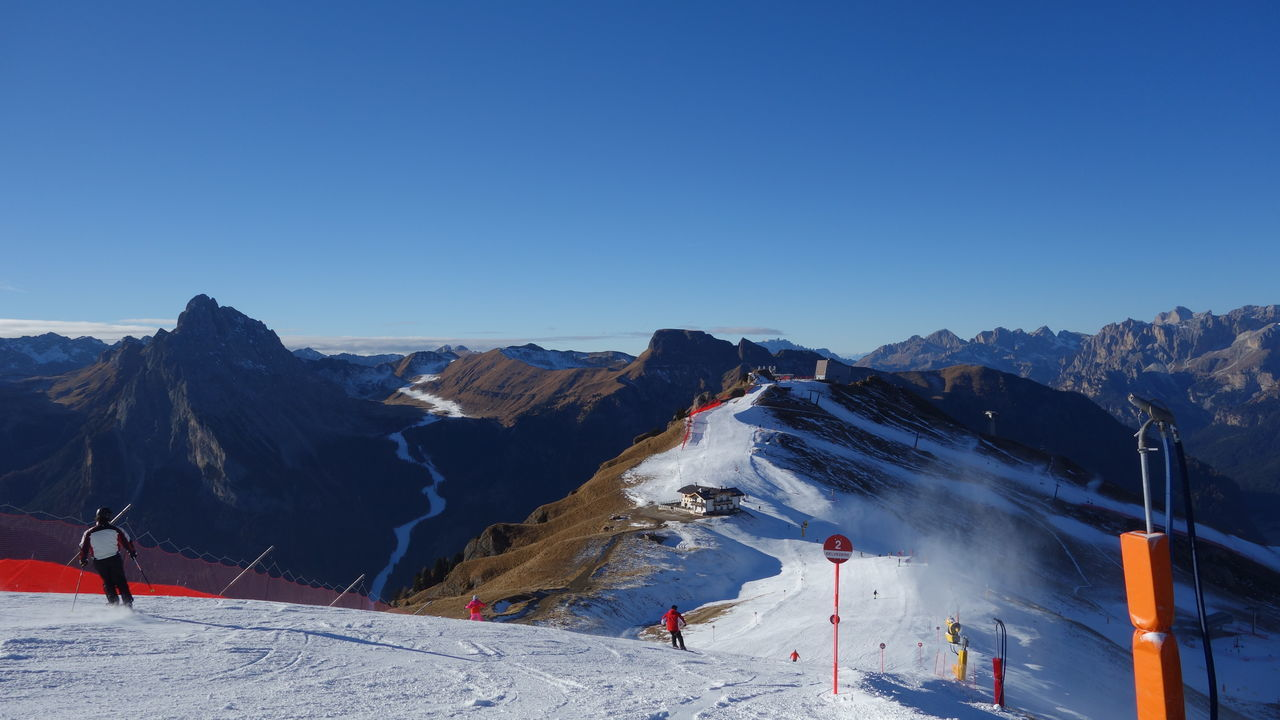 Adventure Alps Amazing Amazing View Beauty In Nature Cold Temperature Extreme Sports Eye4photography  Italy Italy❤️ Landscape Leisure Activity Mountain Mountain Range Nature Scenics Selva Di Valgardena Ski Holiday Snow Sport Taking Photos Taking Pictures Vacation Vacations Winter