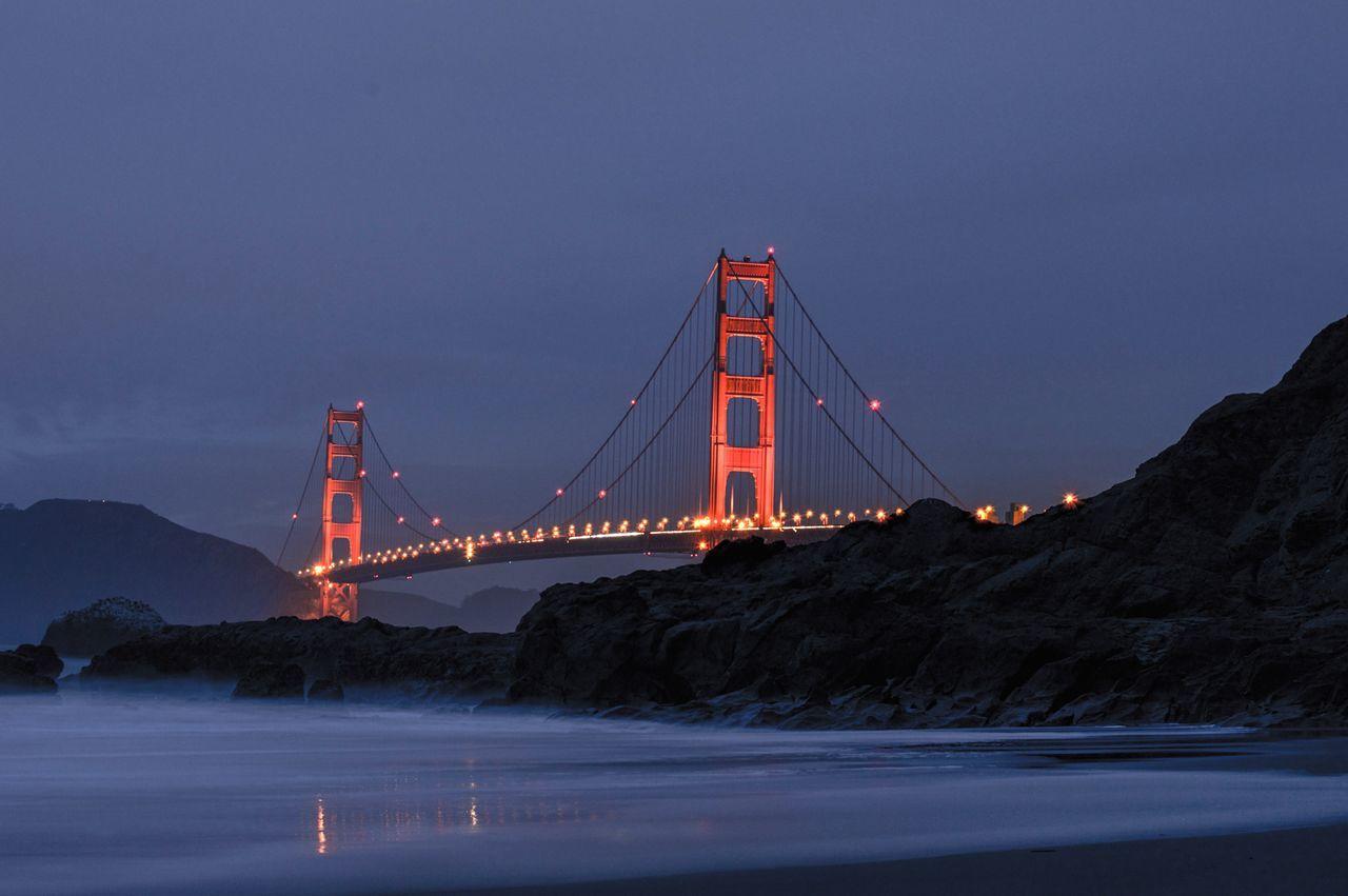 Beautiful stock photos of san francisco,  Architecture,  Bridge - Man Made Structure,  Built Structure,  Capital Cities