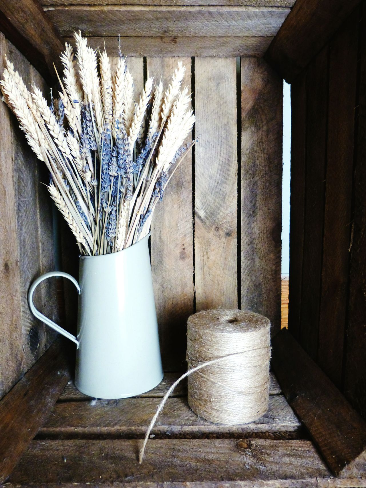 Crate photography Crate Rustic Wheat Lavender Twine Earthy Farm Wood Wooden Dried Flowers Flowers