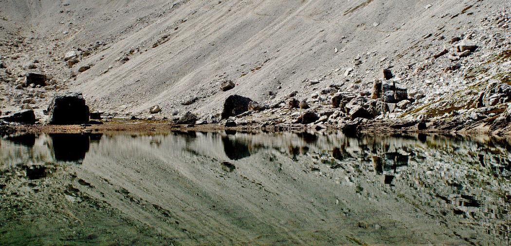 Dolomites Dolomites, Italy Day Dolomiti Lake Mountain Lake Nature No People Outdoors Pisciadu Reflecting Reflecting Water Reflection
