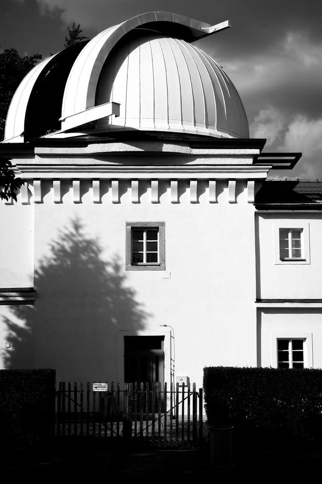 Black & White Black And White Blackandwhite Observatory