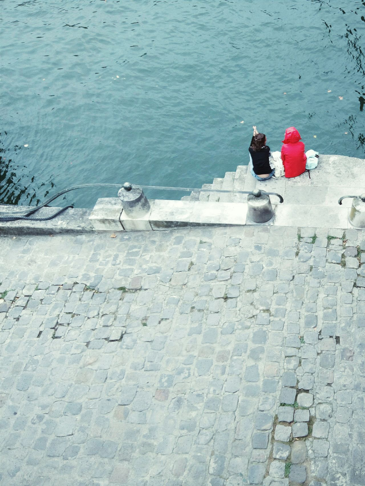 Cold Temperature Tranquility Relaxation Water Vacations Nature Tranquil Scene Day Person Red Scenics Outdoors Weekend Activities From Above  Telling Stories Differently Paris, France  Pivotal Ideas Jetty Raincoat Joined Together In Prayer Cobblestone Minimalist Architecture The Street Photographer - 2017 EyeEm Awards Neon Life Breathing Space