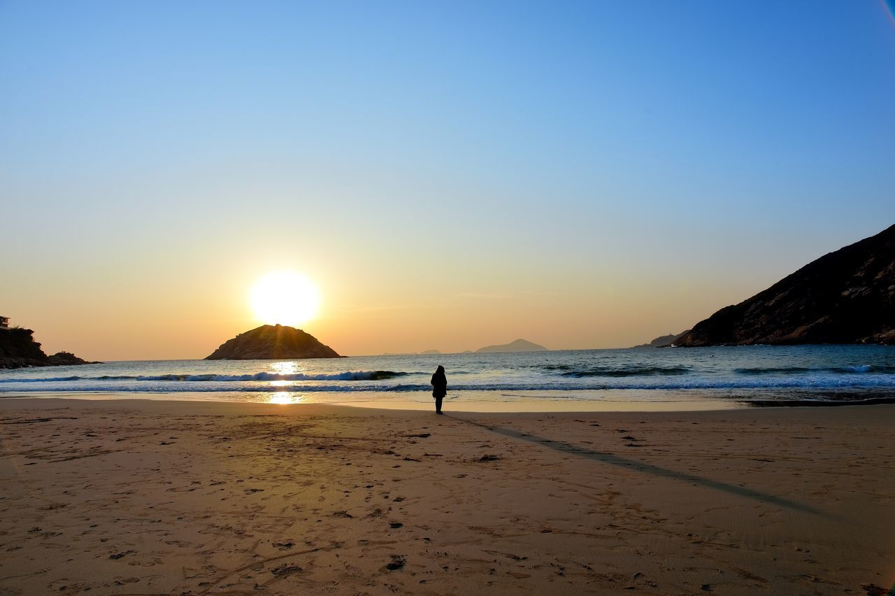 Sunrise Sunrise HongKong Shek O Beach Dawn Dawn Of A New Day Winter Damp Orange Color Golden Hour 43 Golden Moments Fresh On Eyeem