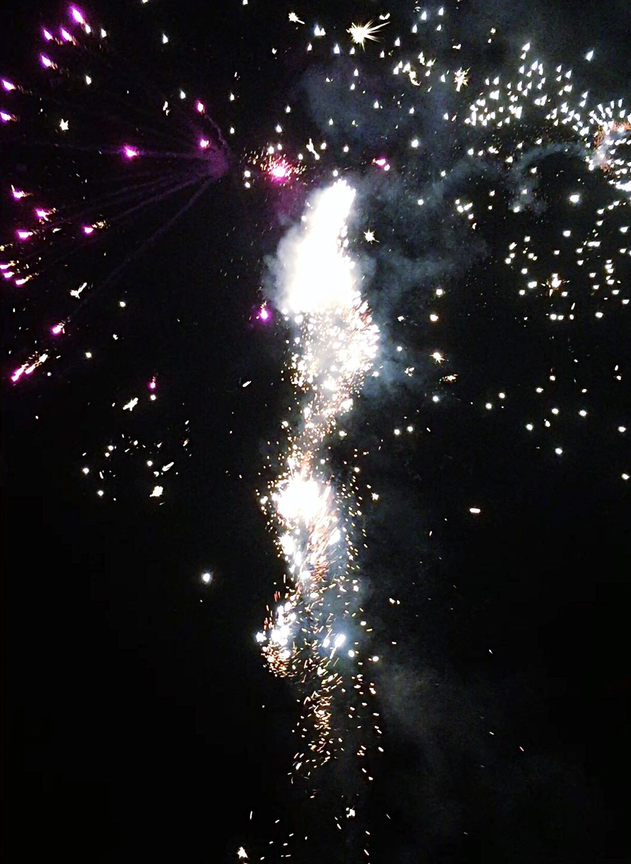 Night Firework Display Exploding Celebration Firework - Man Made Object Long Exposure Low Angle View Event Arts Culture And Entertainment Sky Outdoors Blurred Motion No People Firework Motion Multi Colored Silvester Sylvester EyeEmNewHere