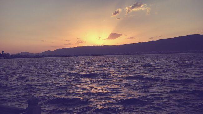 India Anasagar Lake, Ajmer Sunset #sun #clouds #skylovers #sky #nature #beautifulinnature #naturalbeauty #photography #landscape Beautiful Evening Sun
