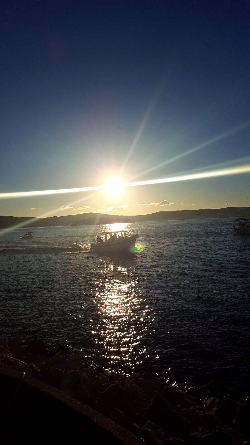 Nature Sky Sea Beauty In Nature Scenics Sunlight Horizon Over Water Outdoors Idyllic Tranquil Scene Sunbeam Water Sunset Yachting Nautical Vessel Sailing Sailing Ship
