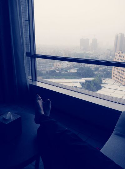Relaxing Enjoying Life Hello World