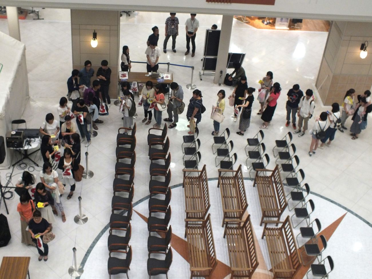 Shoppingmall Longline Autograph ,fans,good People Jpop IndieBand Ganbatte Cd