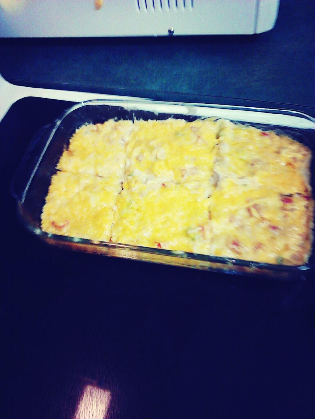 Made Chicken Tortilla Casserole In Class
