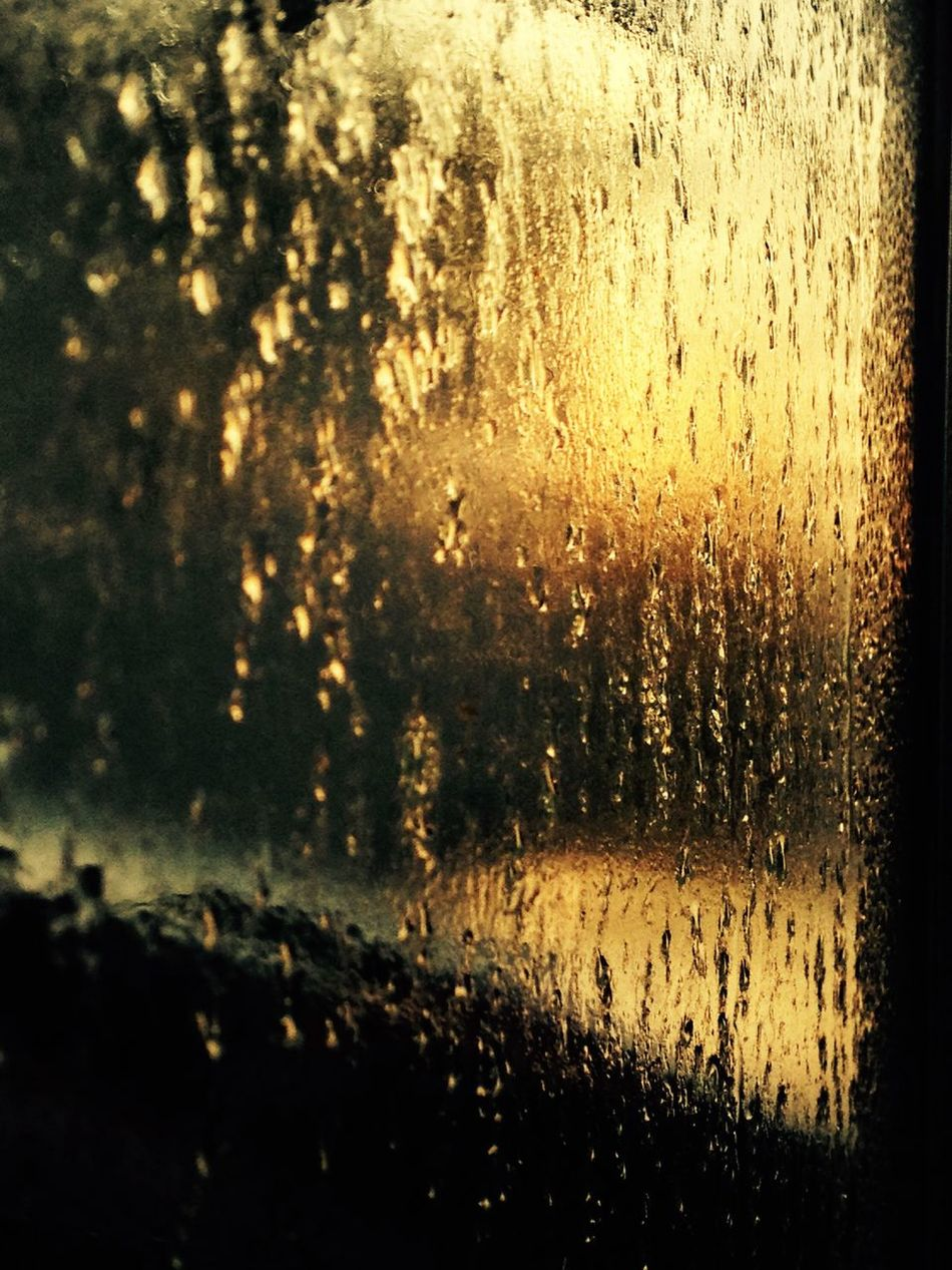 Melting away Glass - Material Transparent Window Weather Drop Close-up Wet Water Car No People Backgrounds RainDrop Melting Depth Of Field Shallow Depth Of Field View Through The Window View Out Of The Window Winter Condensation Moody Vintage