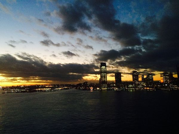 Dramatic Sky over the Hudson NYC Photography Hudson River Urban Skyline Cityscape Water City Sunset EyeEmNewHere