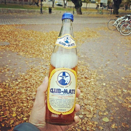 Found Club Mate finally somewhere in Scandinavia! Sweden , this round goes to Finland . Clubmate