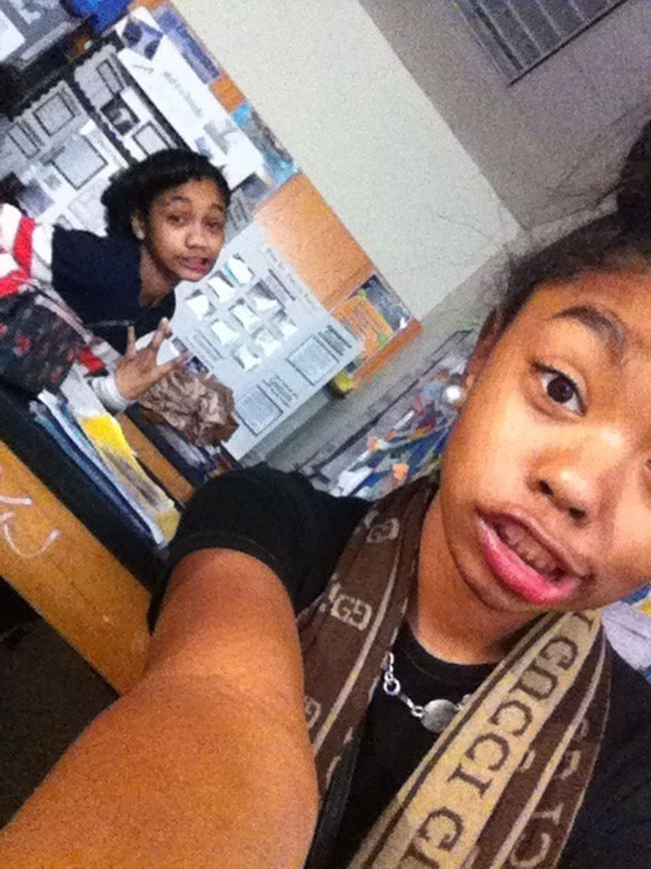 Me And my Jadey In Class