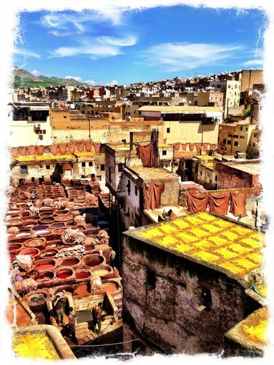 Rooftops Panoramic View Tannery