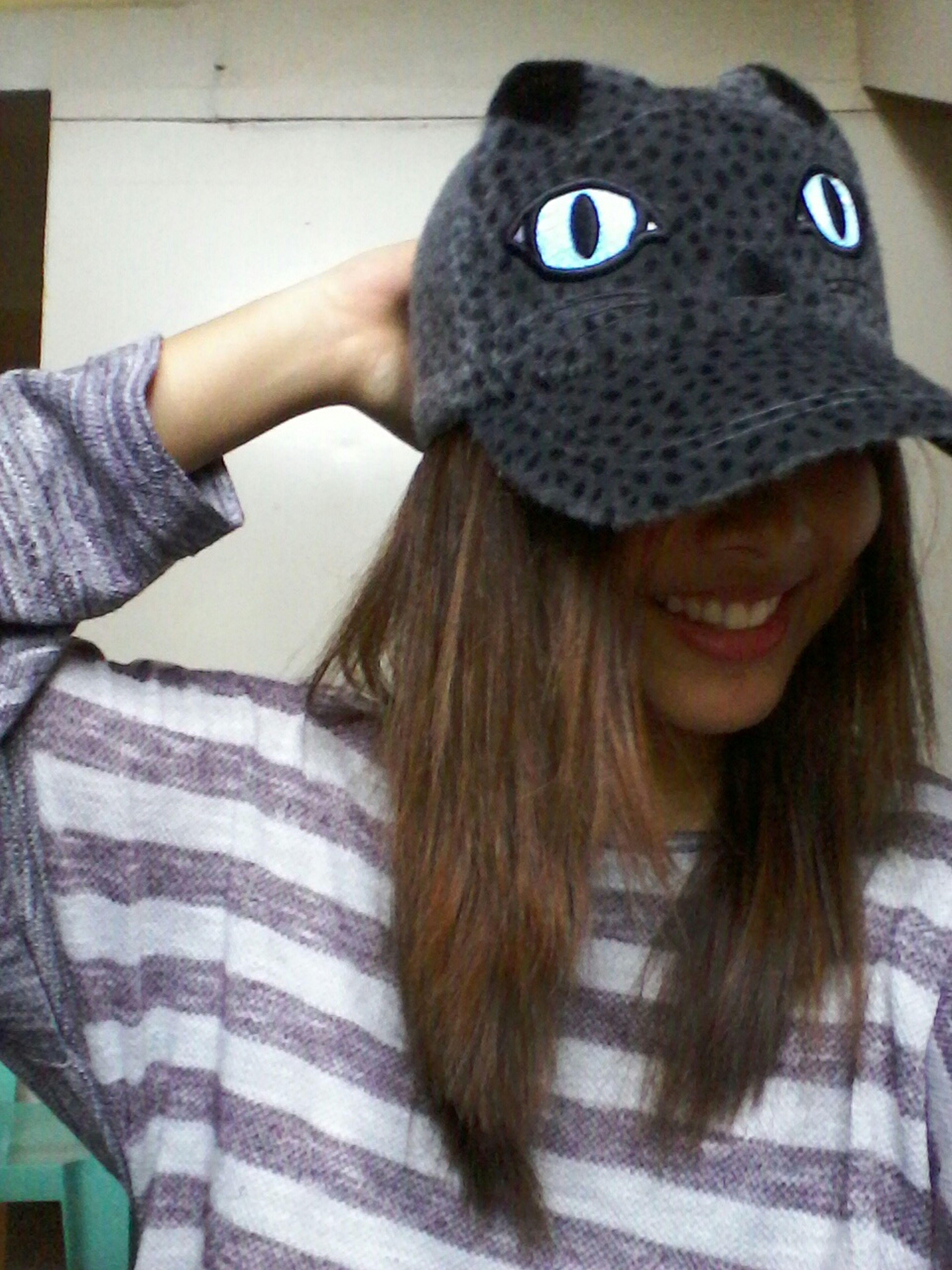 Lovingnthis cap ♡ ☆ ☆ ☆ Selfieonrainydays Sweaterishart First Eyeem Photo