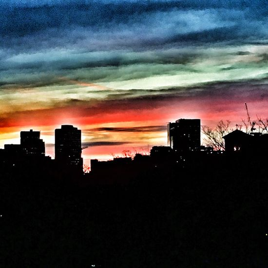 Sunset Toronto The 6ix Snapseed IPhone IPhoneography